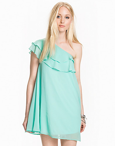 One Shoulder Frill Detail Dress (1973023811)
