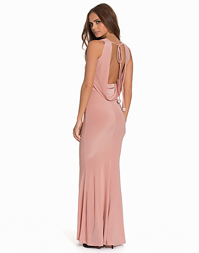 Cowl Back Slinky Maxi Dress (2068360843)