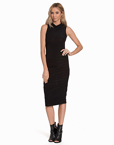 High Neck Rouched Dress (2059535089)