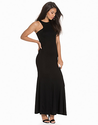 Valentino Crepe Racer Front Maxi Dress (2143963649)