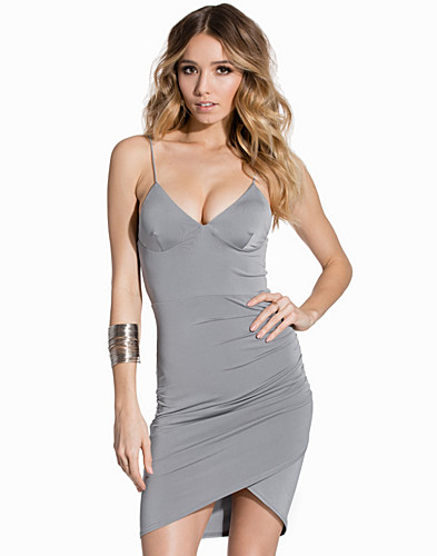 Cami Rouched Side Detail Mini Dress (2146782925)
