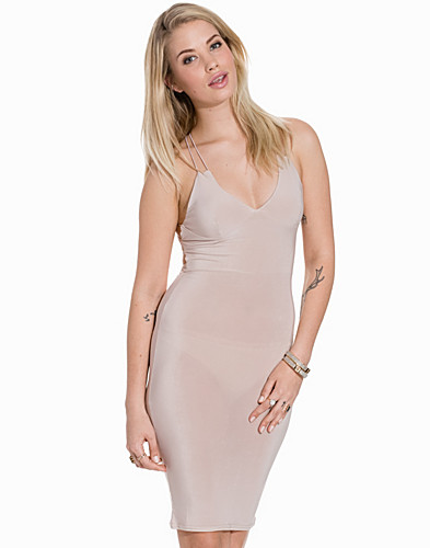 Cami Strap Back Ruching Detailed Dress (2158471393)