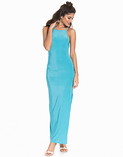 Slinky Criss Cross Strap Maxi Dress (2264259909)