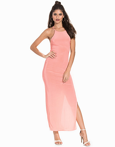Slinky Criss Cross Strap Maxi Dress (2174488421)