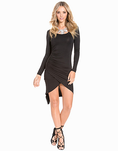 Asymmetric Jersey Dress (2184737125)