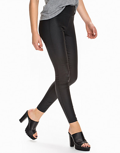 Coated High Waist Leggings (2054458821)