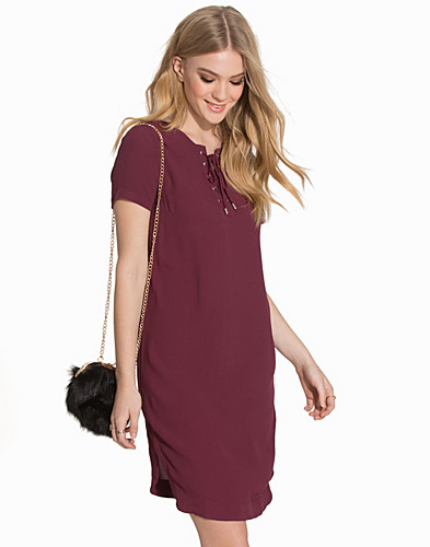 Eyelet Lace Up Tunic (2076919557)