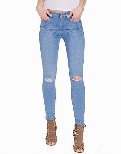 Skinny Jeans w Busted Knee (2263512481)