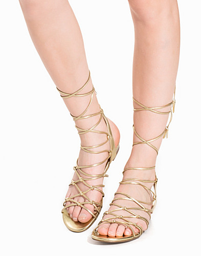 Knotted Strap Wedge Sandals (2174488029)