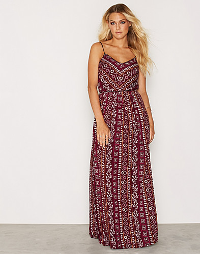 Aztec Print Pleated Maxi (2267167173)