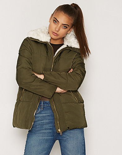Nelly.com SE - Lux Borg Trim Puffer Jacket 699.00