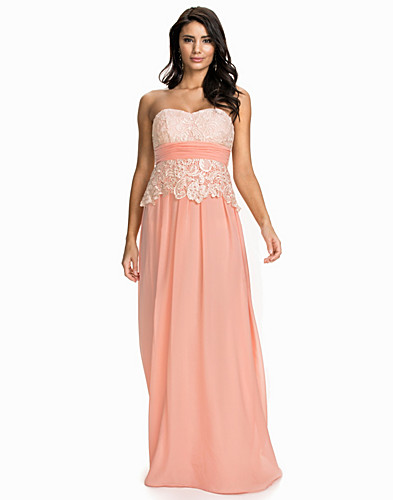 Bandeau Lace Up Dress (1882320775)
