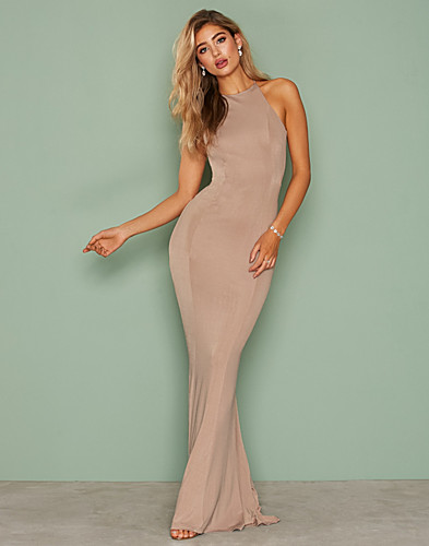 Nly Eve - Ruched Back Tail Gown