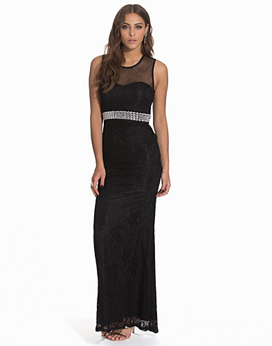 Diamond Belt Lace Gown (2119293111)