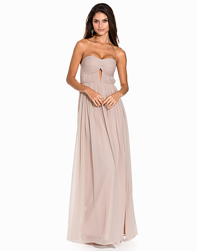Cut Out Pleat Gown (2216447943)