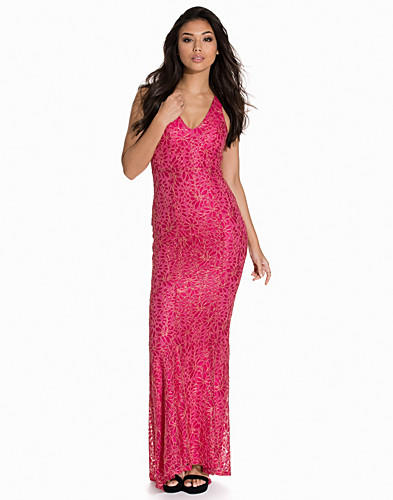 Mermaid V Neck Lace Gown (2156344627)