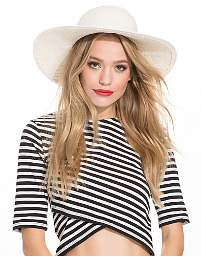 Bow Strap Straw Hat (2224360937)