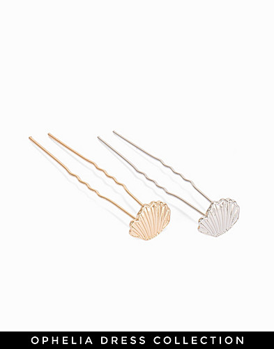 2 Pack Shell Hairpins (2187655501)