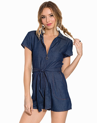 Blue Love Playsuit (2196407679)