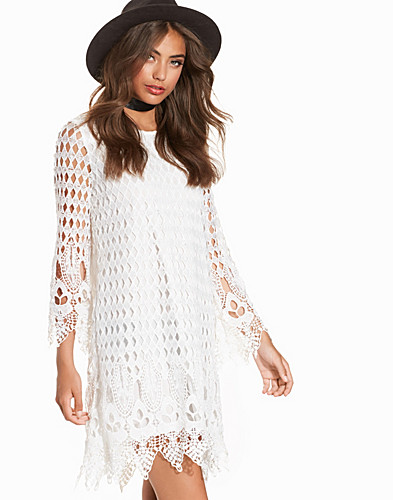 Crochet Shift Dress (2202606041)