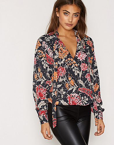 Printed Balloon Blouse (2275467577)