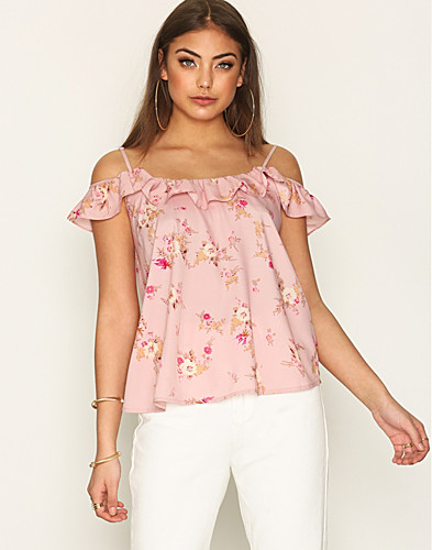 NLY Trend - Thin Strap Frill Cami