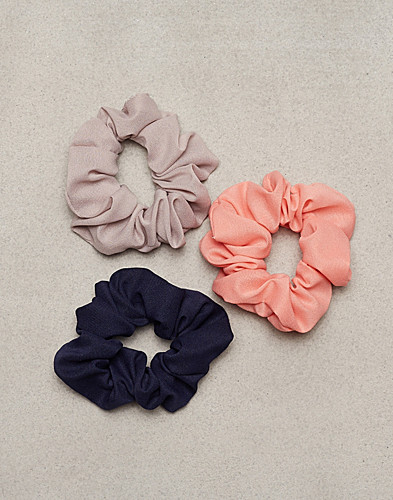 NLY Accessories - Chiffon Scrunchie 3-pack
