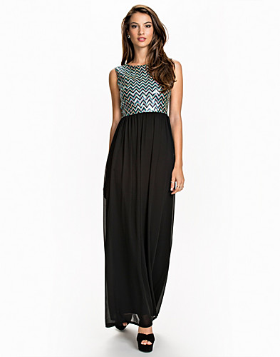 Aztek Sequin Maxi Dress (2012649631)