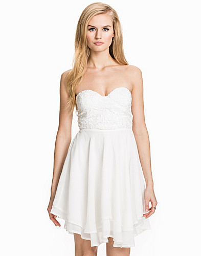 Sequin Crochet Bustier Banadeu Short Dress (1957743817)