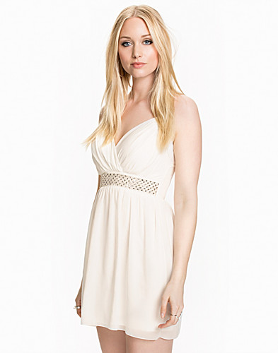 Cross Front Diamonte Dress (1972219327)