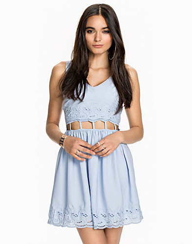 Cut Out Waist Dress (2010776743)