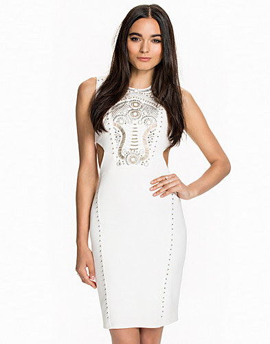 Embellished Cut Out Dress (2010776747)