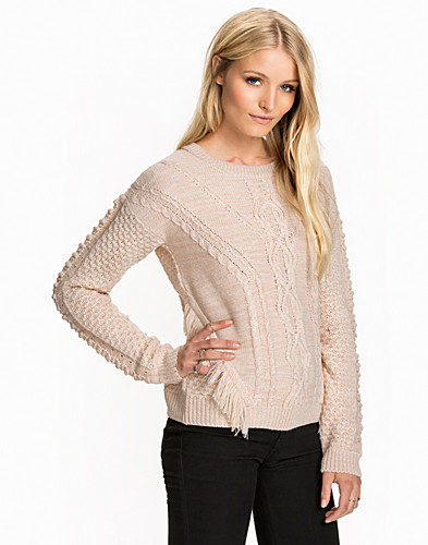 Cable Fringe Jumper (2039308463)