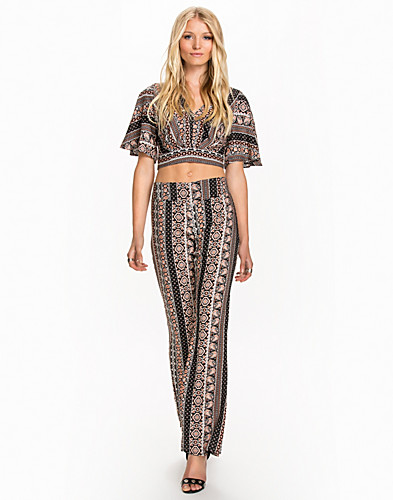 Aztec Wrap Back Top (2034661581)