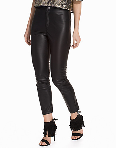 Faux Leather Skinny Trousers (2134098635)