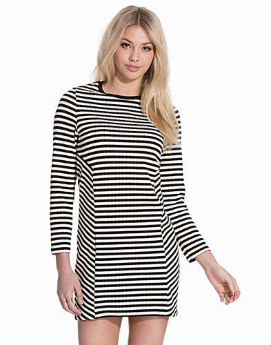 Striped Sweatshirt Dress (2127940107)