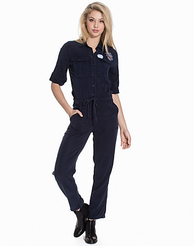 Badged Utility Boiler Suit (2127940207)