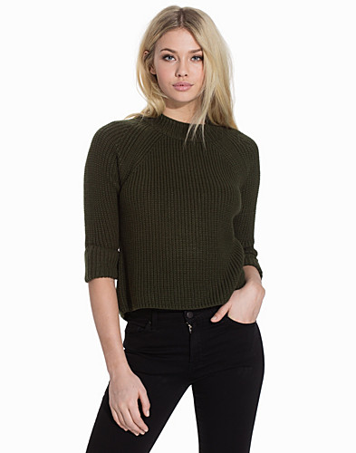 Boxy Cropped Jumper (2128389567)