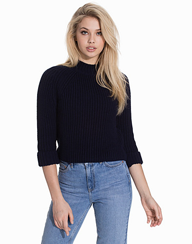 Boxy Cropped Jumper (2128389503)