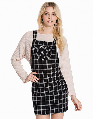 Check Pinafore Dress (2138893843)
