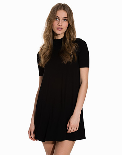 Half Sleeve Flippy Tunic Dress (2149787353)