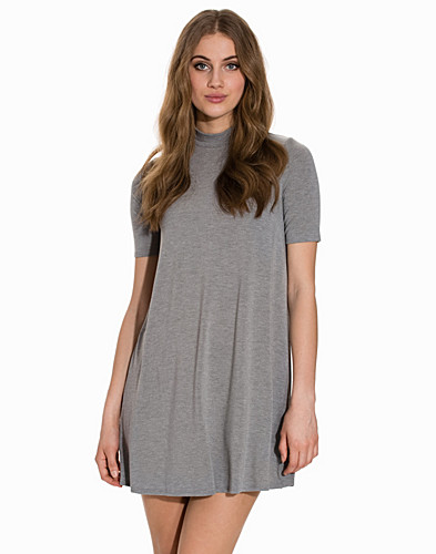 Half Sleeve Flippy Tunic Dress (2149787355)