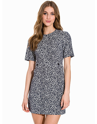 60s Animal Shift Dress (2149787483)