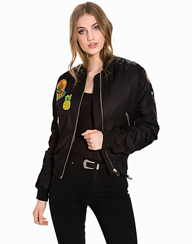 Badged MA1 Bomber Jacket (2187655523)