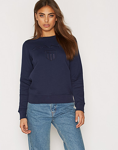 Gant Shield C Neck Sweat (2274537077)