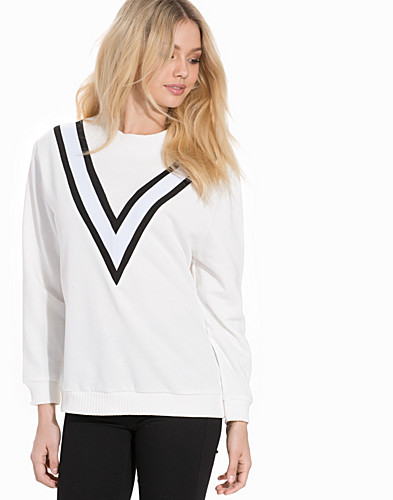 Sporty Colour Block Sweatshirt (2190653915)