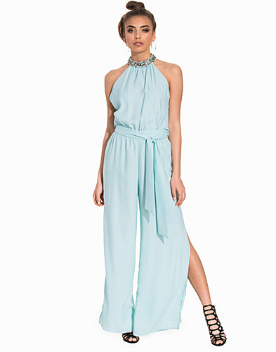 Mint Embellished Jumpsuit (2200991605)