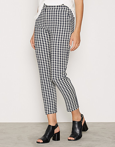 Gingham Cigarette Trousers (2263512495)
