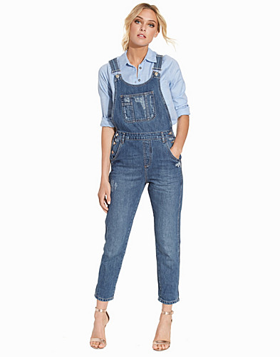 Long Denim Dungaree (2226272381)