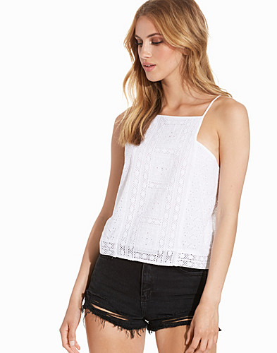 Broderie Square Neck Top (2224360969)